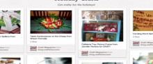 our holiday board on pinterest