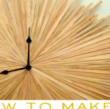 how-to: starburst clock
