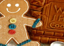 how-to: cardboard gingerbread man
