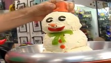 recipe: frosty the cheeseball man from charles phoenix