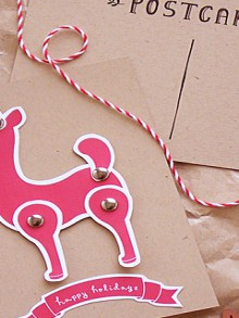gift guide: crafty wrapping