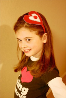 how-to: valentine headbands
