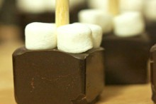 recipe: hot chocolate on a stick