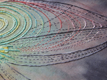 the space stitchery of artist marta brysha