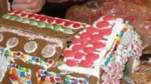 transforming gingerbread house
