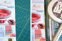 tool review: martha stewart crafts and lion brand yarn knit & weave loom kit
