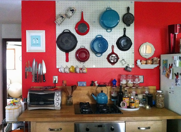 how-to: hang a pegboard