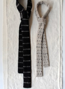 how-to: knit father and son ties