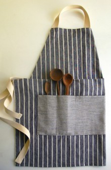 how-to: adjustable unisex apron