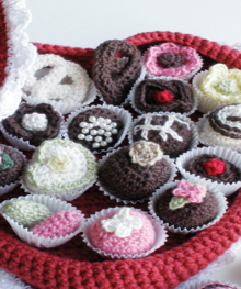 how-to: crochet box of chocolates
