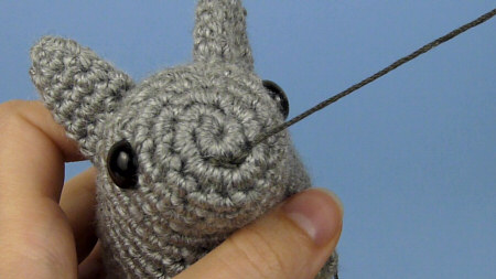 Amigurumi Open Mouth : how-to: secure stitching on amigurumi make handmade ...