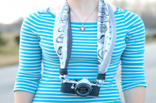 how-to: scarf camera strap