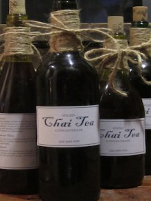 how-to: bottle your own chai tea
