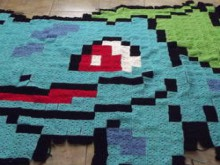 pokemon bulbasaur afghan