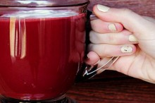 recipe: red velvet hot chocolate
