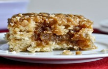 recipe: eggnog breakfast crumble crunch cake