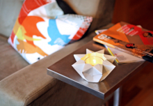 how-to: origami star lantern