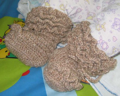 Can't Fail Pattern: Easy Baby Booties — craftbits.com