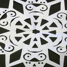 christmas craft ideas: paper snowflakes video tutorial