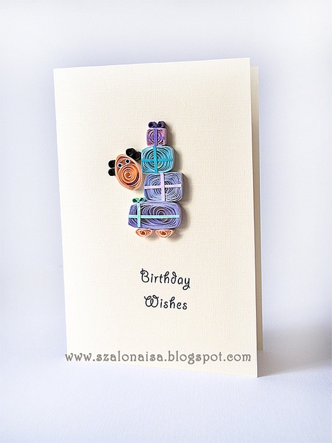Christmas Quilling Card Idea