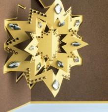 christmas craft ideas: star pup up card tutorial