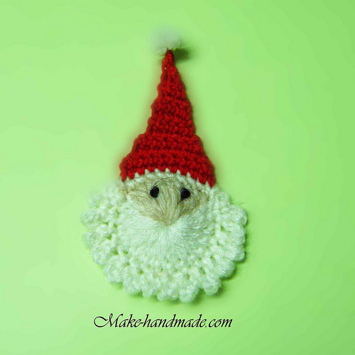 Pin Christmas Craft Ideas Crocheted Ornament For Christmas Tree on ...