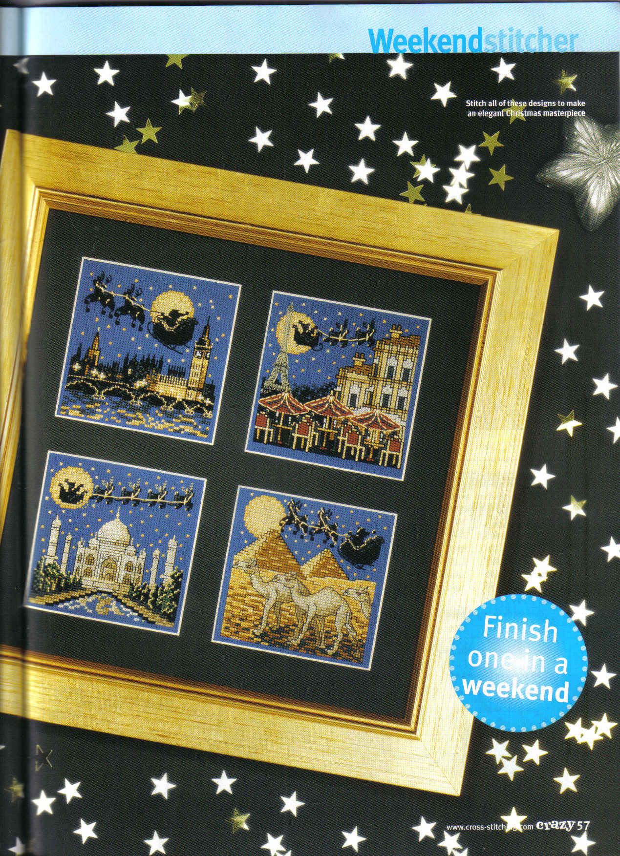 http://make-handmade.com/wp-content/uploads/2011/12/christmas-crafts-santa-s-sleigh-ride-cross-stitch-kits-make-handmade-26e8b54b517a3.jpg