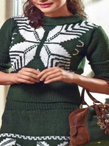 christmas fashion for women: knitting patterns