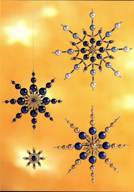 christmas ornaments crafts with beads: beaded ornaments | make ...