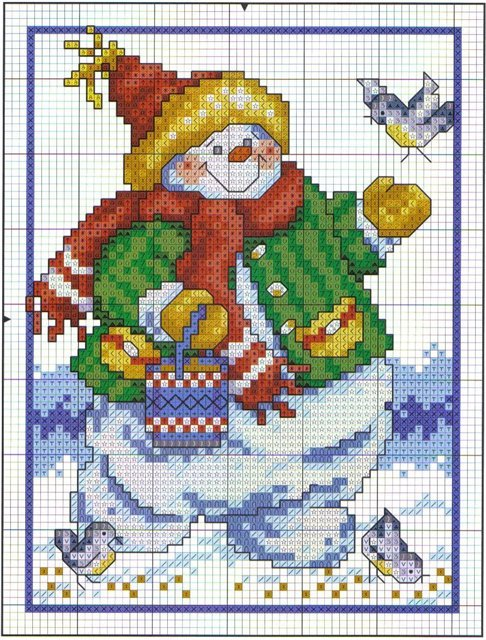 http://make-handmade.com/wp-content/uploads/2011/12/christmas-tree-ornament-crafts-snowman-cross-stitch-kits-make-handmade-14ca2de8769809.jpg