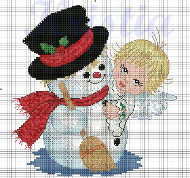 http://make-handmade.com/wp-content/uploads/2011/12/christmas-tree-ornament-crafts-snowman-cross-stitch-kits-make-handmade-16e01dc9e54152.jpg