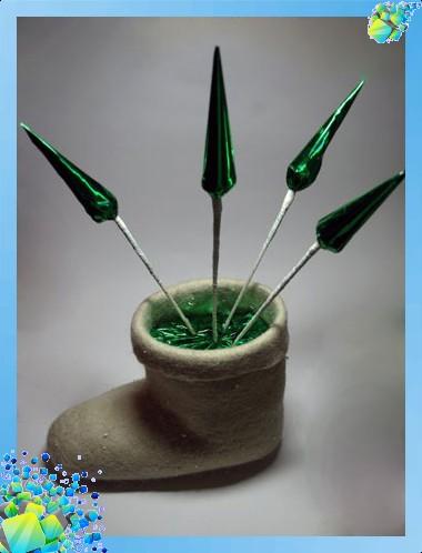 Новогодний сапожок с конфетами букеты +из конфет картинки