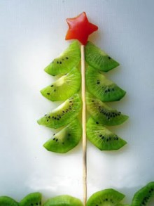 kiwi christmas tree tutorial