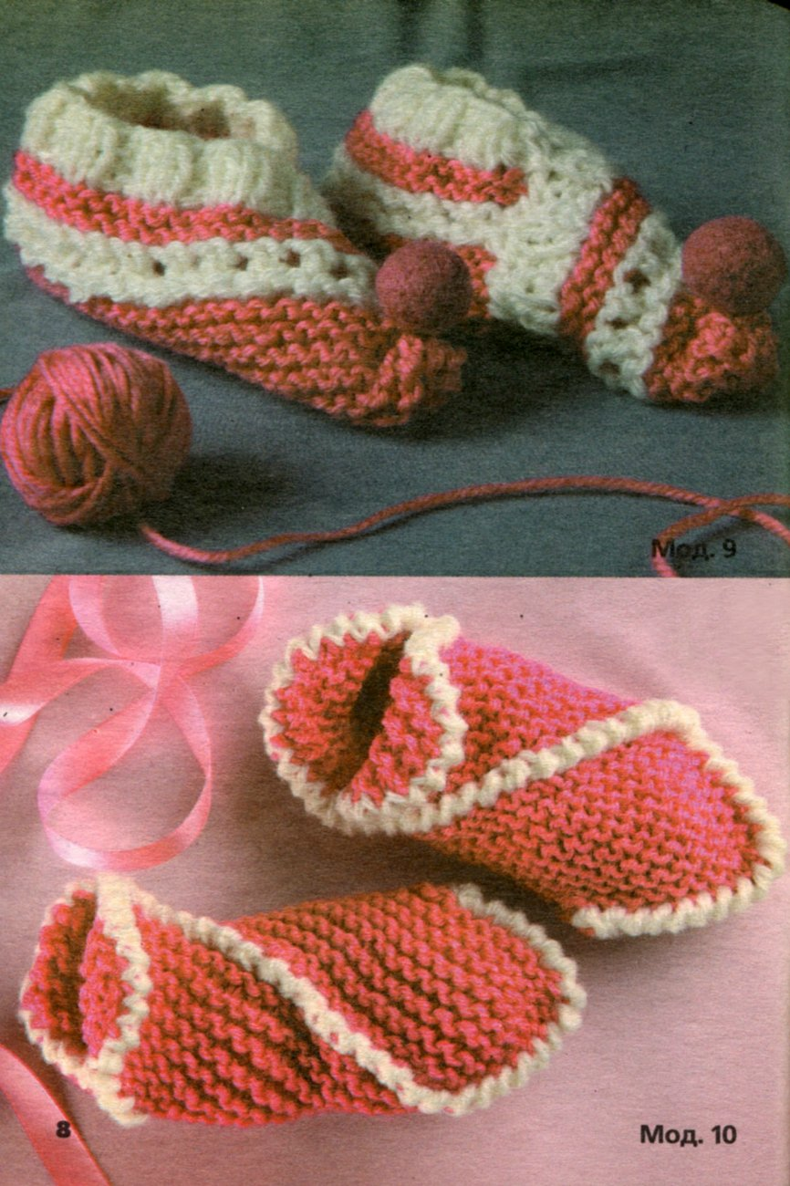 Handmade Knitting Patterns : knitting slippers, free knitting patterns make handmade, crochet, craft