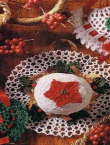 christmas crafts: merry sachets, holiday hat