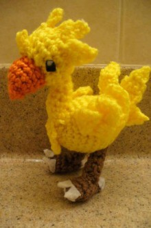 chocobo crochet tutorial