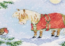 christmas greetings cross stitch chart