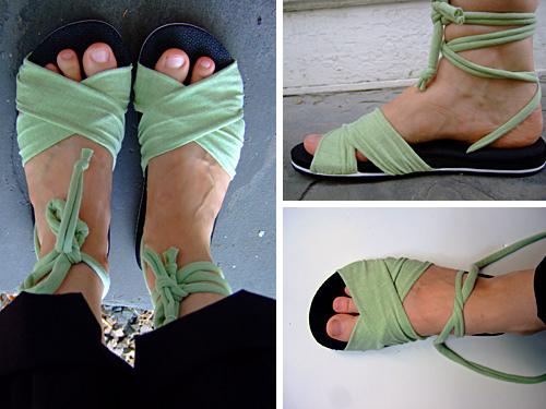 Summer Sandals Tutorial