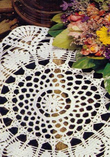 beautiful lace tablecloths: free crochet patterns