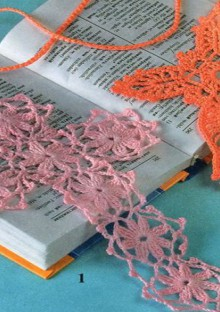 christmas ornaments: crocheted crosses , free crochet patterns