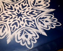 christmas craft ideas: kirigami snowflake tutorial
