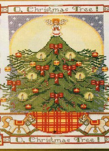 christmas ideas: beautiful embroidered pictures
