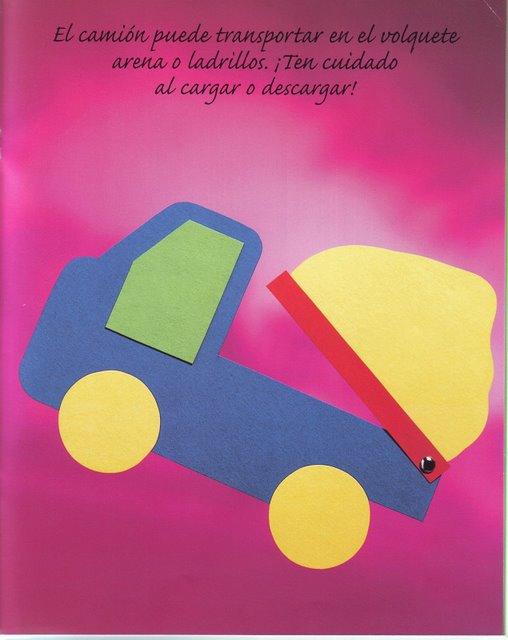 baby making toys: transport paper for baby | make handmade