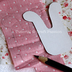 How to sew a sachet