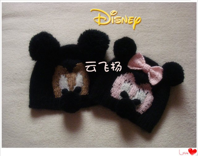 Mickey Hat For Kids Free Knitting Patterns Make Handmade Crochet