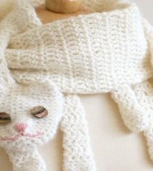 Free Crochet Patterns For Animal Scarves : unique gifts: cute scarf, free crochet patterns make ...