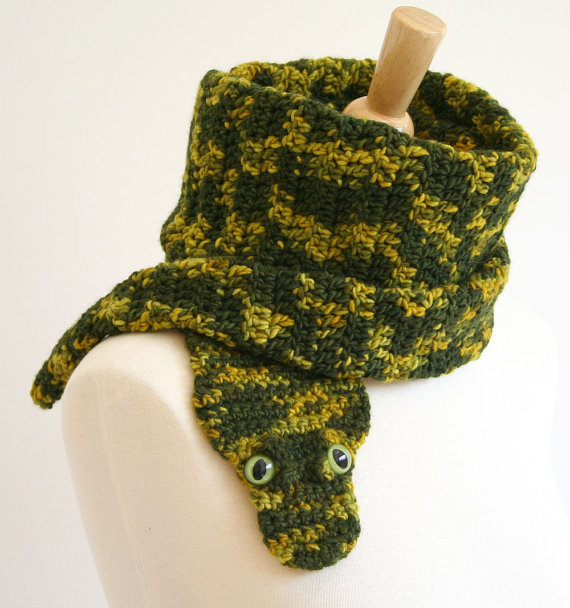 Free Crochet Patterns For Animal Scarves : animal scarf crochet patterns, ooak animal scarves make ...
