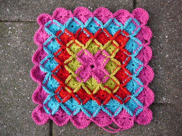 Summer Baby Blanket Crochet Pattern | Red Heart