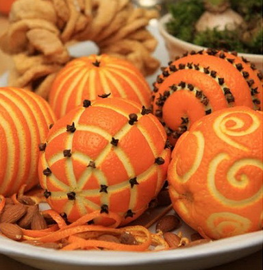 Craft Ideas  Home Decor on Craft Ideas Fragrant Christmas Oranges Make Handmade 1uy181 Jpg