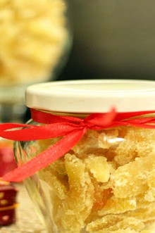food gifts for new year: ginger jam tutorial